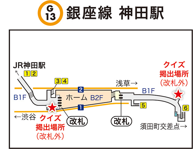銀座線 神田駅